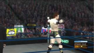 WWE '12 Sheamus Updated Entrance [Video]