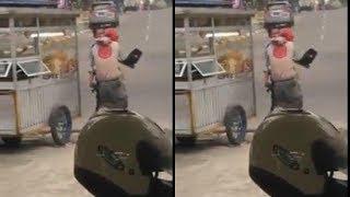 Viral Video Seorang Oknum Petugas Dishub Pukul Pak Ogah, Pihak Dishub Buka Suara