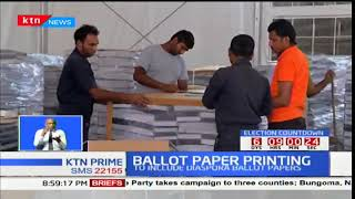 IEBC says printing of ballot papers for the repeat presidential polls is compete
