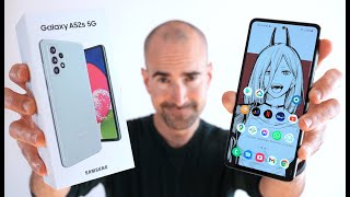 Samsung Galaxy A52s 5G - Unboxing & Full Tour - Gaming, Camera & More!