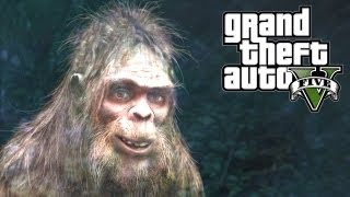 GTA 5 Easter Eggs - Bigfoot! (GTA V Easter Egg)