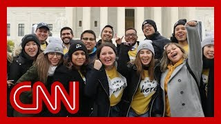 Supreme Court hearing arguments on DACA