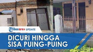 Atap Rumah hingga Pagar Besi Hilang Digasak Maling di Medan, Sisa Puing-puing dan Nyaris Rata Tanah