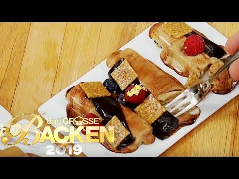 Optik? Flop! Wie schmecken die zerlaufenen Erdnuss-Törtchen?   Das große Backen 2019   SAT.1