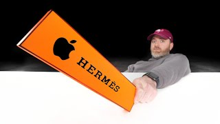 "Apple Hermès ""Luxury"" AirTag Unboxing..."