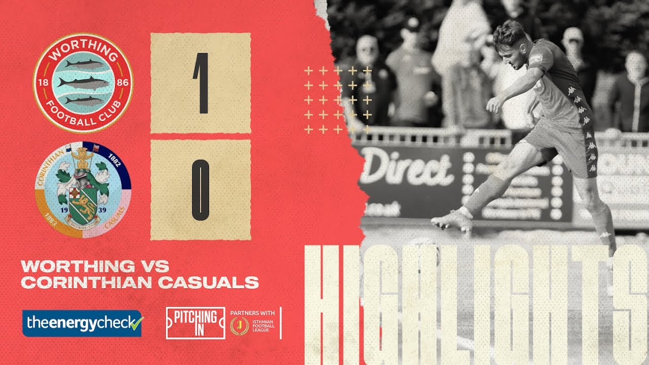 Thumbnail for Highlights: Worthing 1-0 Corinthian Casuals