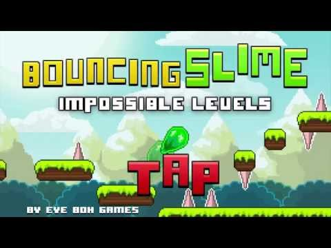 Video of Bouncing Slime Impossible Game