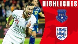 Kosovo 0-4 England | Mount & Winks First International Goals! | Euro 2020 Qualifiers | England