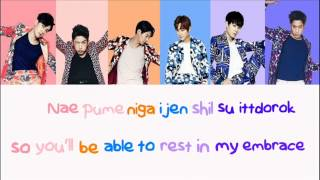 Gambar cover Shinhwa - Perfect Man - Lyrics (Color Coded)