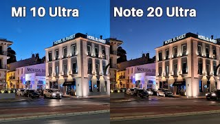 Xiaomi Mi 10 Ultra vs Samsung Galaxy Note20 Ultra Camera Comparison