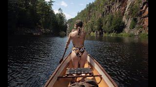 ESCAPE TO THE WILDERNESS: Algonquin Park Backcountry Canoe Trip - BARRON CANYON