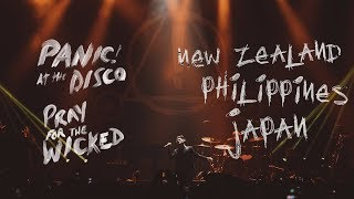 Panic! At The Disco - Pray For The Wicked Tour (New Zealand, Philippines + Japan Recap)