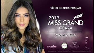 Yasmin Martins Miss Grand Ceara 2019 Presentation Video