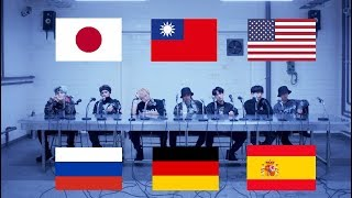 BTS MIC DROP 6 languages