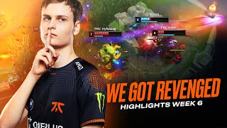 LEC : highlight de la semaine 5 des Fnatic