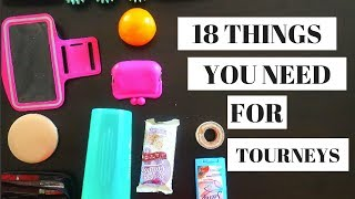 18 THINGS YOU NEED FOR VOLLEYBALL TOURNAMENTS!