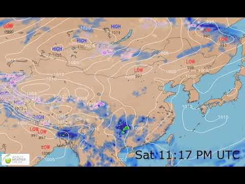 Eastern Asia Weather Forecast HD: 24 May 2019 [Updated at 0000 hours UTC]