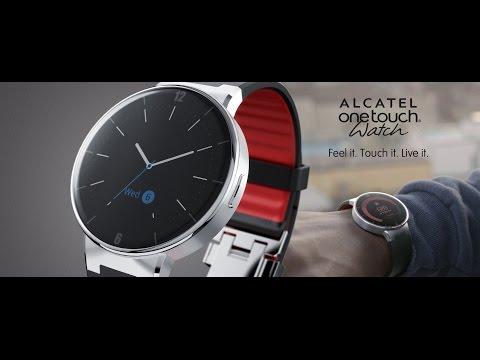Foto Unboxing e collegamento Alcatel Onetouch Watch