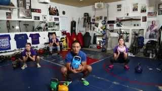 1. Kettlebell Workouts • BEGINNERS WORKOUT by ChiChiHealthFitness