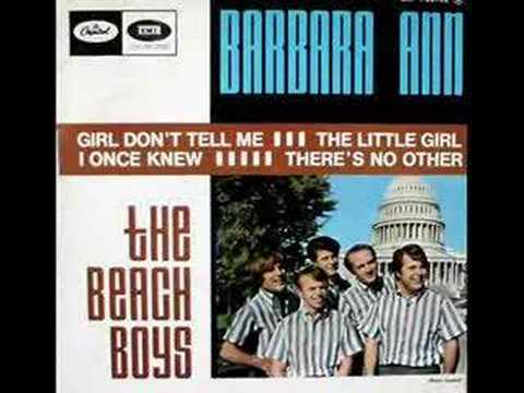 The Beach Boys Singing Barbara Ann Chords