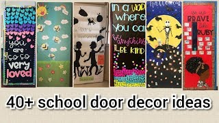 40+ Letest Classroom Door Decoration Ideas |  Classroom Door Decoration Ideas For School |