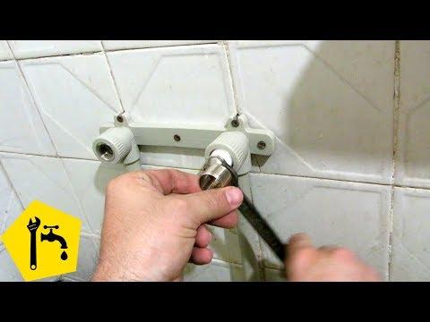 ✅ УСТАНОВКА СМЕСИТЕЛЯ ДУША в ванной / Ремонт сантехники