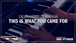 Calvin Harris ft. Rihanna - This is what you came for - Band Karaoke / Instrumental / Lyrics