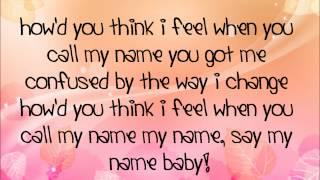 Cheryl Cole - Call my name lyrics