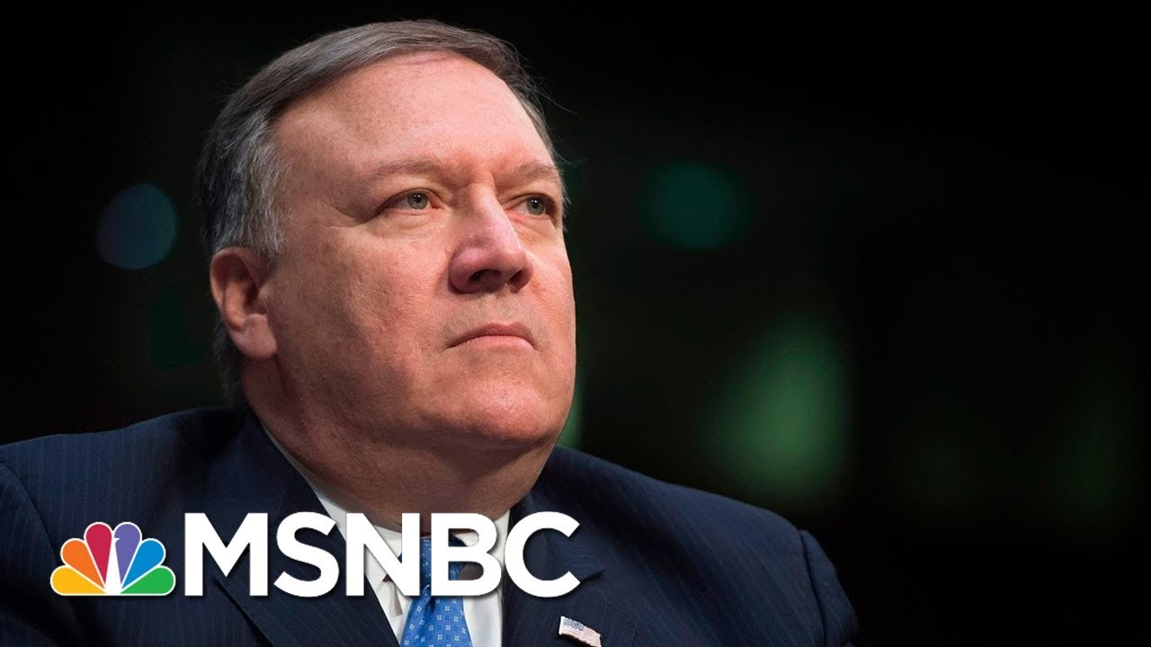 How Will Mike Pompeo Affect State Department Relations With Russia? | MSNBC thumbnail