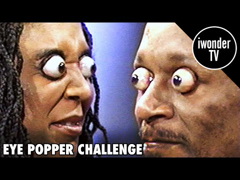 Eye Popper Challenge - World Record For Eyes Popping Out The Furthest