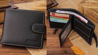 Недорогой мужской кошелёк, бумажник или портмоне из ПУ кожи JINBAOLAI (Aliexpress)