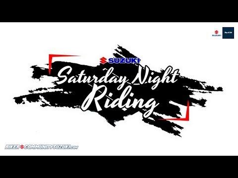 Keseruan Riding Malam Hari? Ya Cuma di Event Suzuki Saturday Night Riding 2019