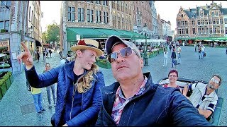 A Lovely Horse Carriage Ride in Bruges, Belgium