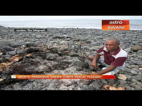MH370: Penduduk dakwa jumpa kerusi pesawat
