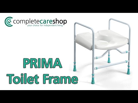 A Stylish Toilet Frame That Provides Support