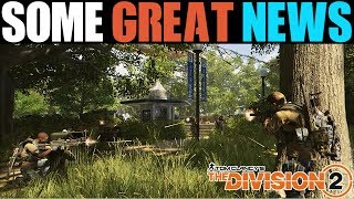 FINALLY SOME AMAZING THE DIVISION 2 NEWS...