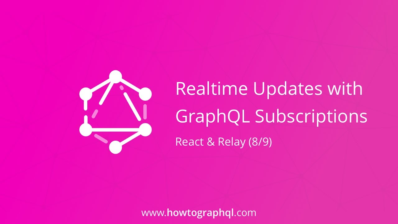 Realtime With Graphql Subscriptions React Relay Tutorial Terminal Transportation Updates