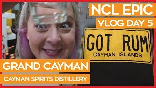 Grand Cayman Distillery Tour | Norwegian Epic Cruise Vlog Day 05