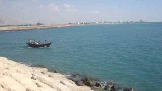 preview picture of video 'Fishing Boat -nakhletaqiقارب صيد في نخل تقي'