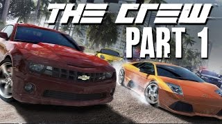 The Crew Walkthrough Part 1 - INTRO (FULL GAME) Let's Play Gameplay