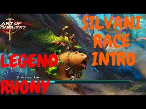 Silvani race intro - future AoC information - Art of Conquest