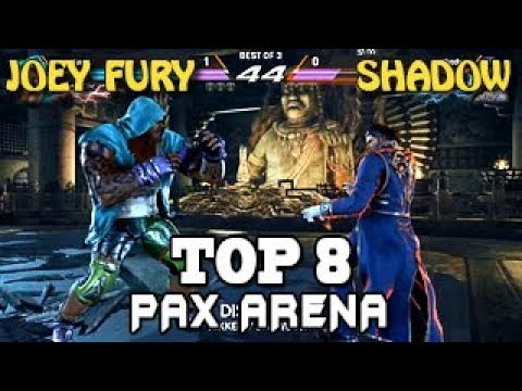 Joey Fury  (Marduk) Vs  Shadow  (Claudio) - TOP 8 - Tekken 7