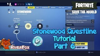 Fortnite STW - Stonewood Quest Line part 6 - Gimme Three