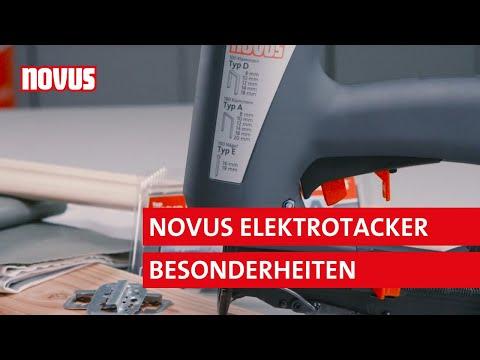 Novus Elektrotacker | Produktfilm