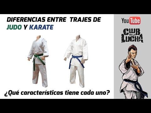 Diferencias entre Kimono de Karate y Judo