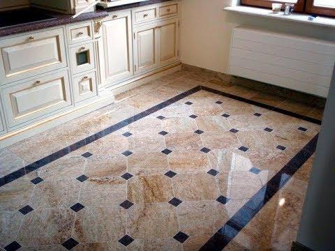 Пол на Кухне - фото - дизайн - 2018 / Floor in Kitchen photo design / Boden in der Küche Fotodesign