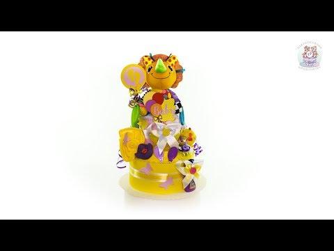 BABYGESCHENK | NEUTRALE WINDELTORTE 1.111 | Diaper Cake Baby