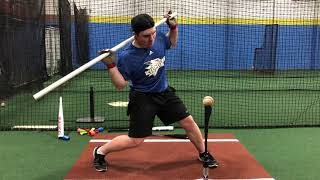 Increase Mobility/Power and Feel Back Side Turn with this Elite Hitting Drill