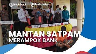 Perampok Bank di Siang Bolong Tertangkap, Ternyata Mantan Satpam dan Uang Dipakai Judi Online