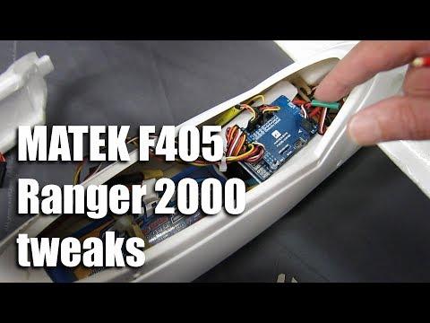 matek-f405--ranger-2000-tweaking